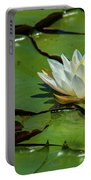 Water Lily With Friend Portable Battery Charger