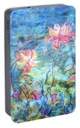 Water Lotus Portable Battery Charger