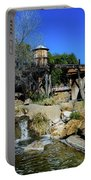Water Mill - Old Tucson Arizona Portable Battery Charger