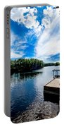 Water Mirrors Sky Portable Battery Charger
