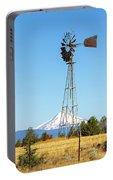 Water Pump Windmill In Central Oregon Farm Portable Battery Charger