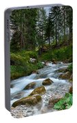 Water Rushing Down Portable Battery Charger