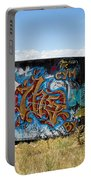 Water Tank Graffiti Portable Battery Charger