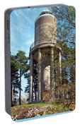 Water Tower In Malmi Cemetery Portable Battery Charger