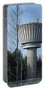Water Tower Of Lohja  Station Portable Battery Charger