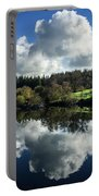 Water Vapour On A Mirror Portable Battery Charger