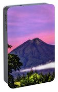 Water Volcano, Guatemala Portable Battery Charger
