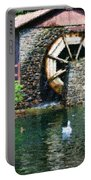Water Wheel Duck Pond Portable Battery Charger