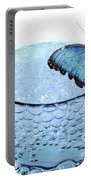 Water With Butterfly Portable Battery Charger