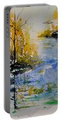 Watercolor 010101 Portable Battery Charger
