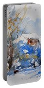Watercolor  011020 Portable Battery Charger