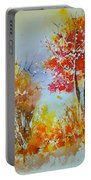 Watercolor 011121 Portable Battery Charger
