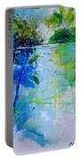Watercolor 012112 Portable Battery Charger