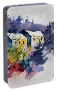 Watercolor 231207 Portable Battery Charger