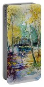 Watercolor 280809 Portable Battery Charger