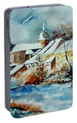 Watercolor Chassepierre Portable Battery Charger