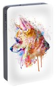Watercolor Chihuahua  Portable Battery Charger