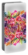 Watercolor Garden IIi Portable Battery Charger
