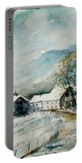 Watercolor Sechery 1207 Portable Battery Charger