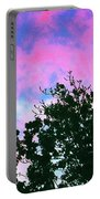 Watercolor Sky Portable Battery Charger