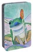 Watercolor - Tree Frog Portable Battery Charger