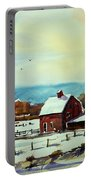 Watercolor_3501 Portable Battery Charger