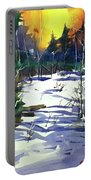 Watercolor3538 Portable Battery Charger