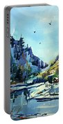 Watercolor3810 Portable Battery Charger
