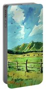 Watercolor4504 Portable Battery Charger