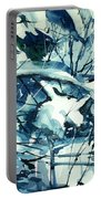 Watercolor4586 Portable Battery Charger