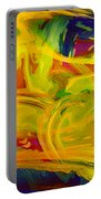 Watercolour Abstract Portable Battery Charger