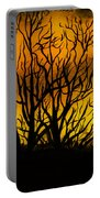 Watercolour Sunset Portable Battery Charger