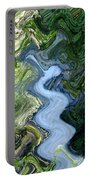 Waterfall Abstract Portable Battery Charger