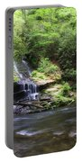 Waterfall And Mountain Creek Portable Battery Charger
