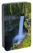 Waterfall At Brandywine Falls Provincial Park Portable Battery Charger