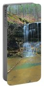 Waterfall At Don Robinson State Park 1 Portable Battery Charger