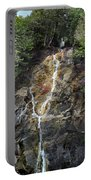 Waterfall At Lake Willoughby  Portable Battery Charger