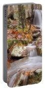 Waterfall Atop Petit Jean Mountain - Arkansas - Nature Portable Battery Charger
