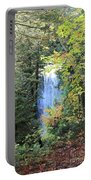 Waterfall Beyond The Trees Portable Battery Charger
