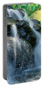 Waterfall Close-up Portable Battery Charger