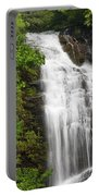 Waterfall Closeup Portable Battery Charger