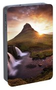 Waterfall Fantasy Portable Battery Charger