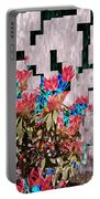 Waterfall Flowers 2 Portable Battery Charger