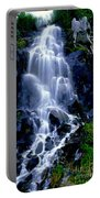 Waterfall Flowing And Ebbing Portable Battery Charger