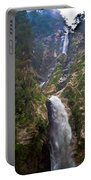 Waterfall Highlands Of Guatemala 1 Portable Battery Charger