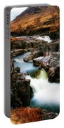 Waterfall In Glencoe Portable Battery Charger