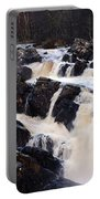 Waterfall In Scotland Portable Battery Charger