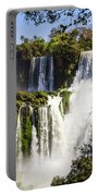 Waterfall In The Jungle Portable Battery Charger