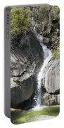 Waterfall Into The Feather River Portable Battery Charger