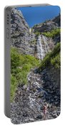 Waterfall Love Portable Battery Charger